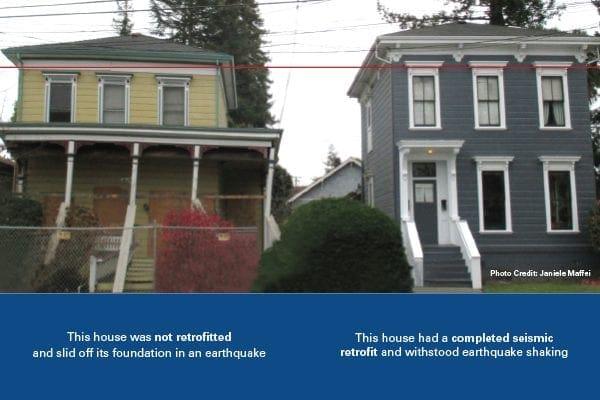 earthquake retrofit Los Angeles homes