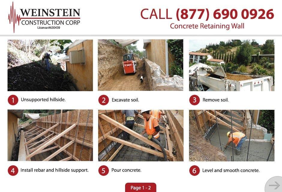 Concrete Retaining Wall 1 Large