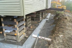 foundation replacement, foundation repair
