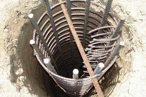 Caissons for home foundations