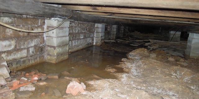 crawlspace-drainage