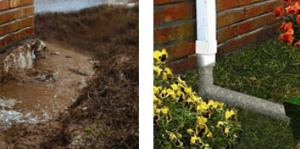 Drainage solutions, water drainage solutions,