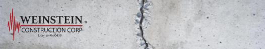 concrete foundation crack