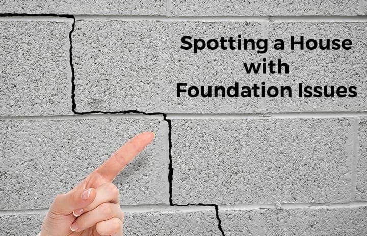 foundation cracks needing repair