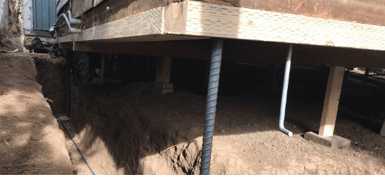 underpinning foundation repair