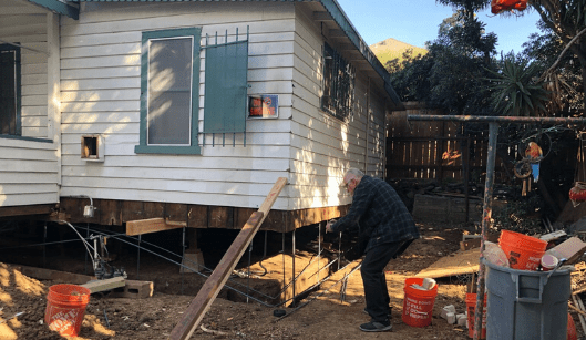 foundation replacement in Los Angeles