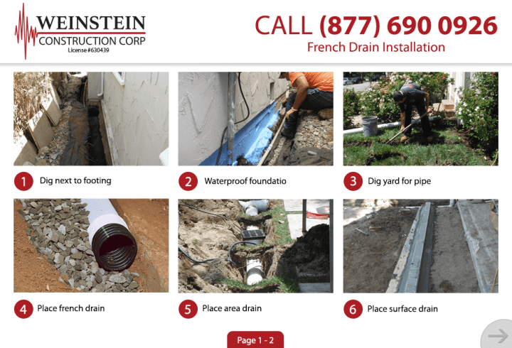 French Drain 1 Large