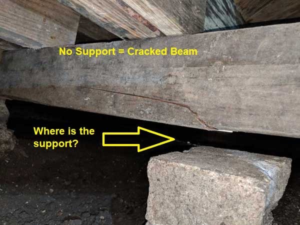 pier and beam foundation problems