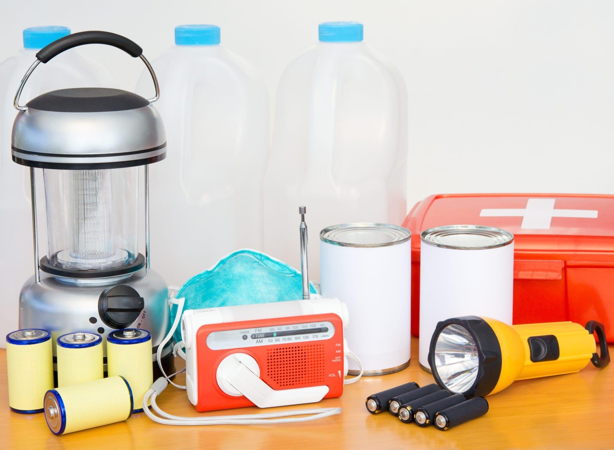 emergency earthquake kit
